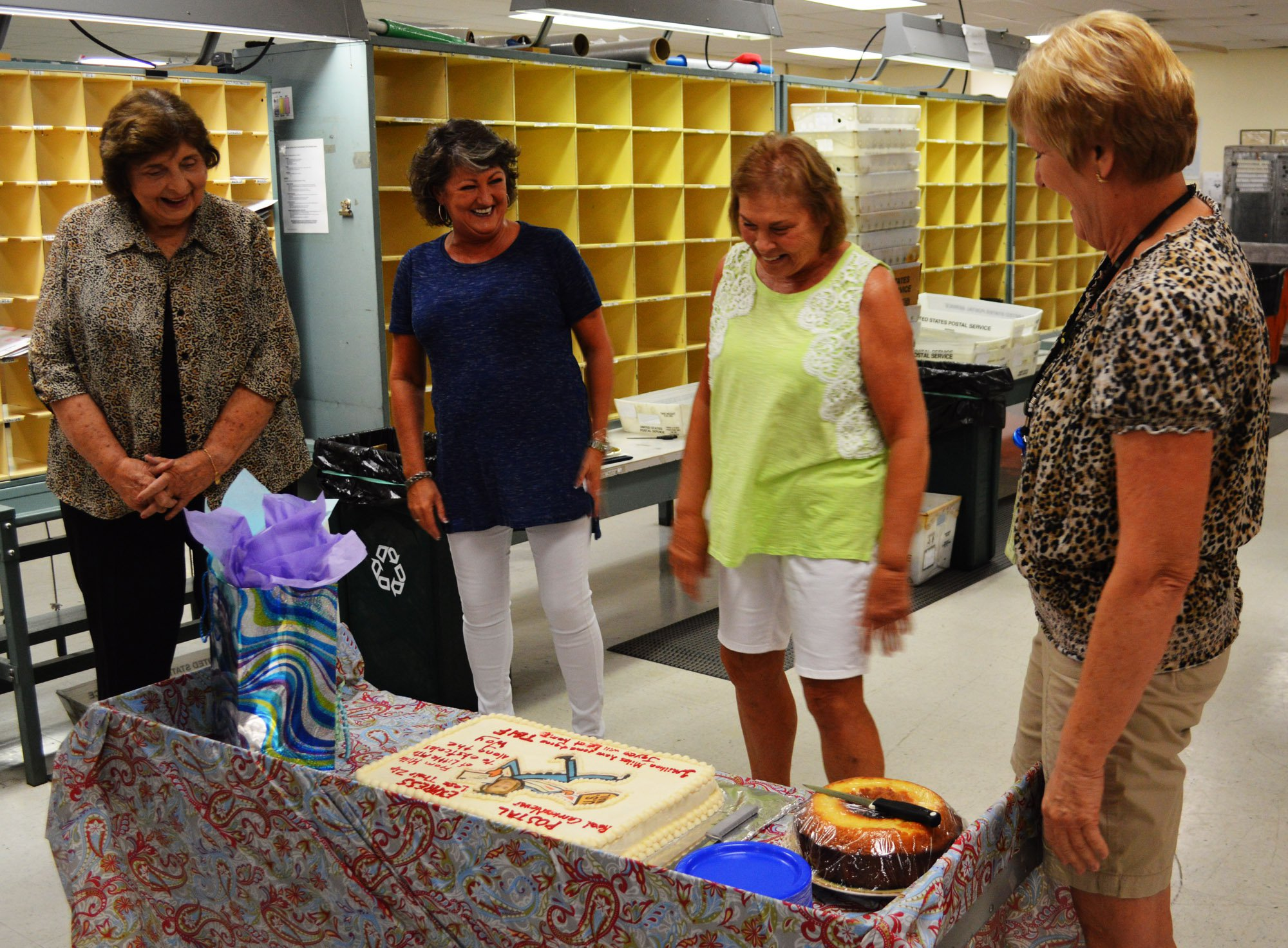 Mail Carrier Retires 5