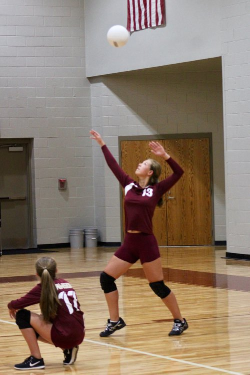 Middle school volleyball pic 2, 9.13.17