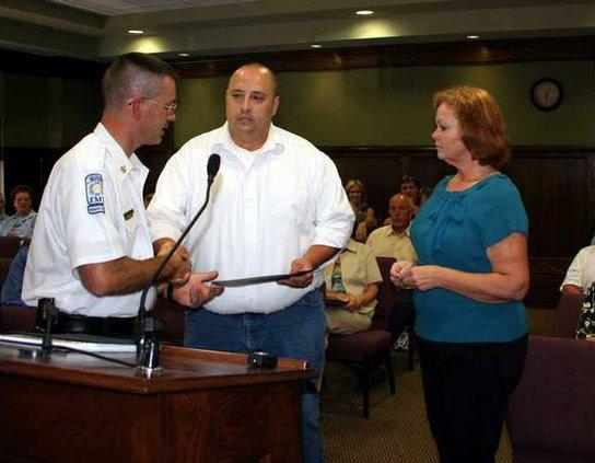 Firemedics Honored pic