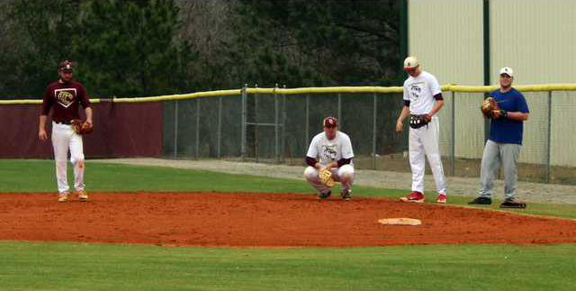 S-Baseball tryouts pic 1