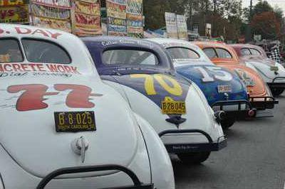 1D9U Pic   J.B. Day brought race cars and a lot of joy to racing fans during the Moonshine Festival