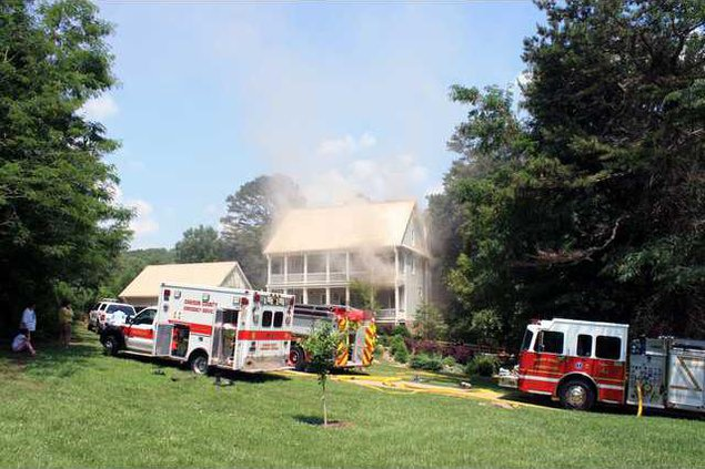 5 House fire pic