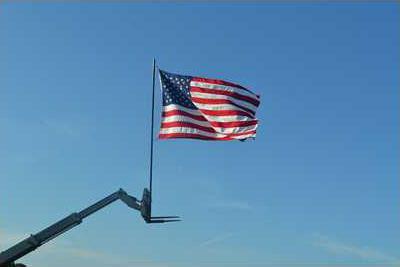 IHJT AMERICAN FLAG   GREAT PIC