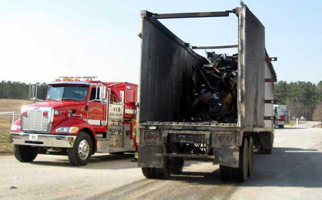 Tractor Trailer Fire pic