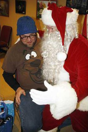 D-Seniors Christmas party pic1