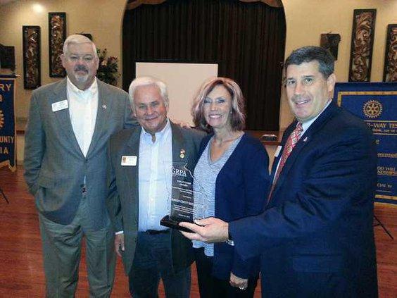 Rotary award pic