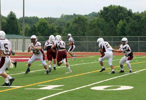 S-DCHS scrimmage story pic