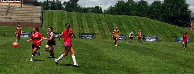 S-Girls soccer camp pic