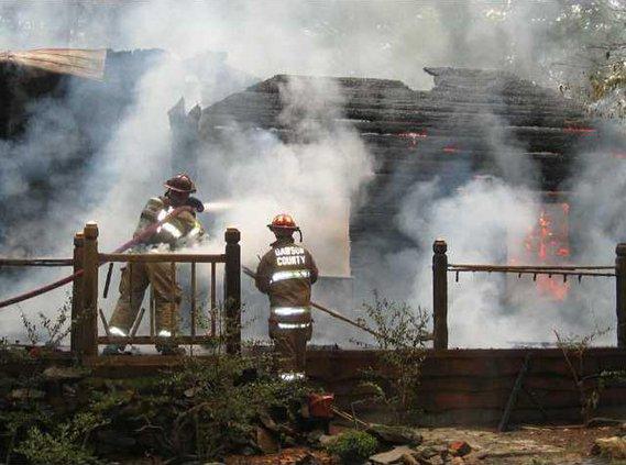 4 Cabin Fire pic