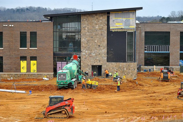 Lanier Tech construction