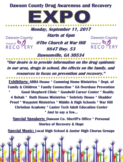 Friends of Recovery expo