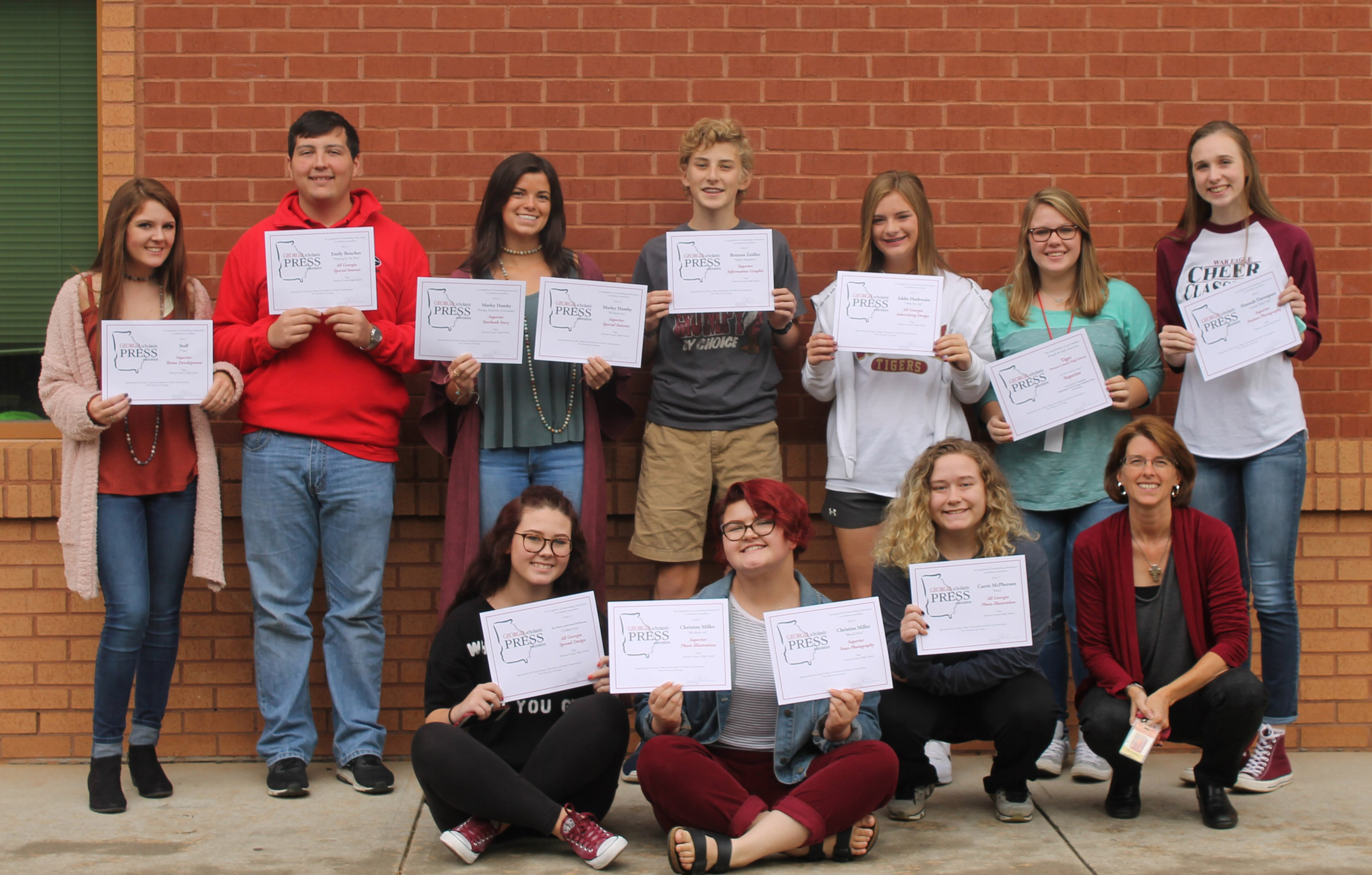 yearbook awards
