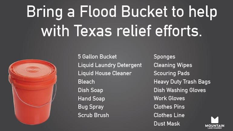 Flood Bucket