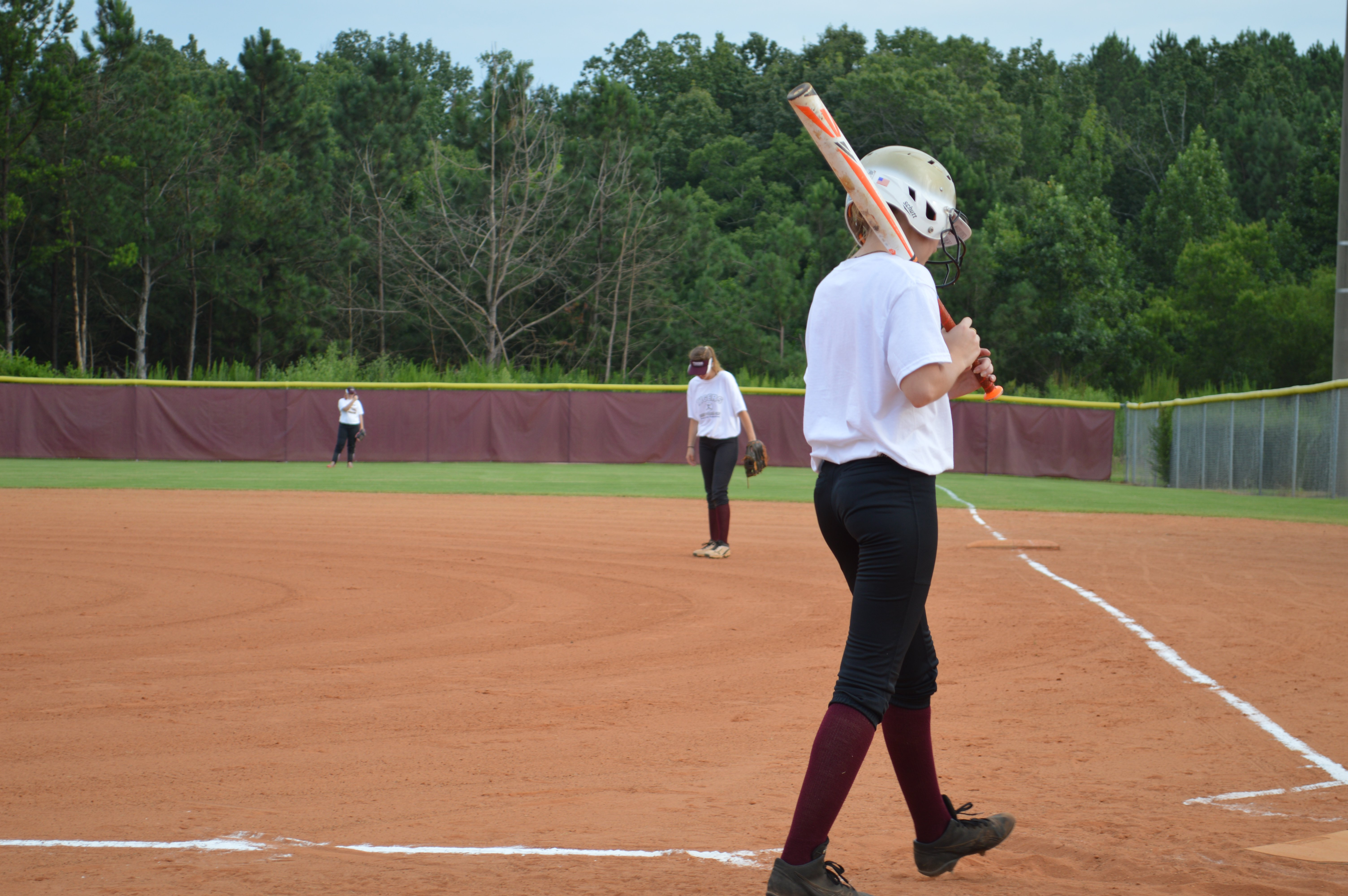 Softball gets underway