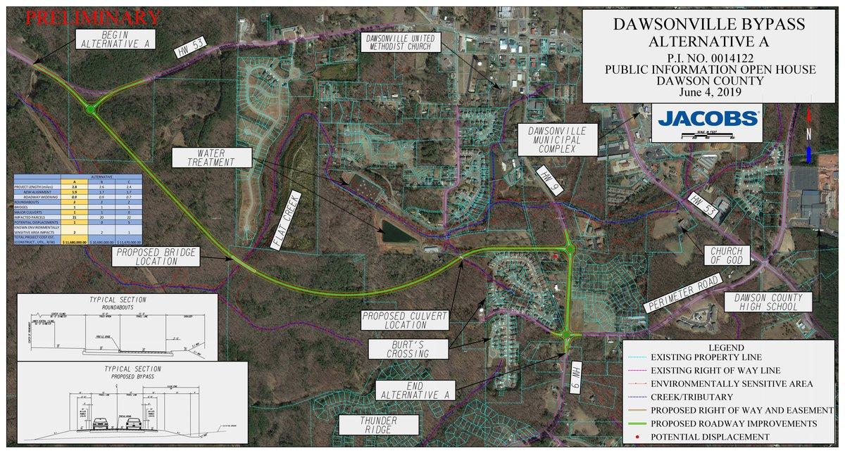 GDOT presents Perimeter Rd  plans - Dawson County News