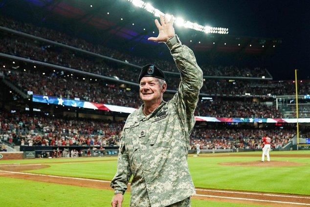 David Sapp honored by Atlanta Braves as Hometown Hero
